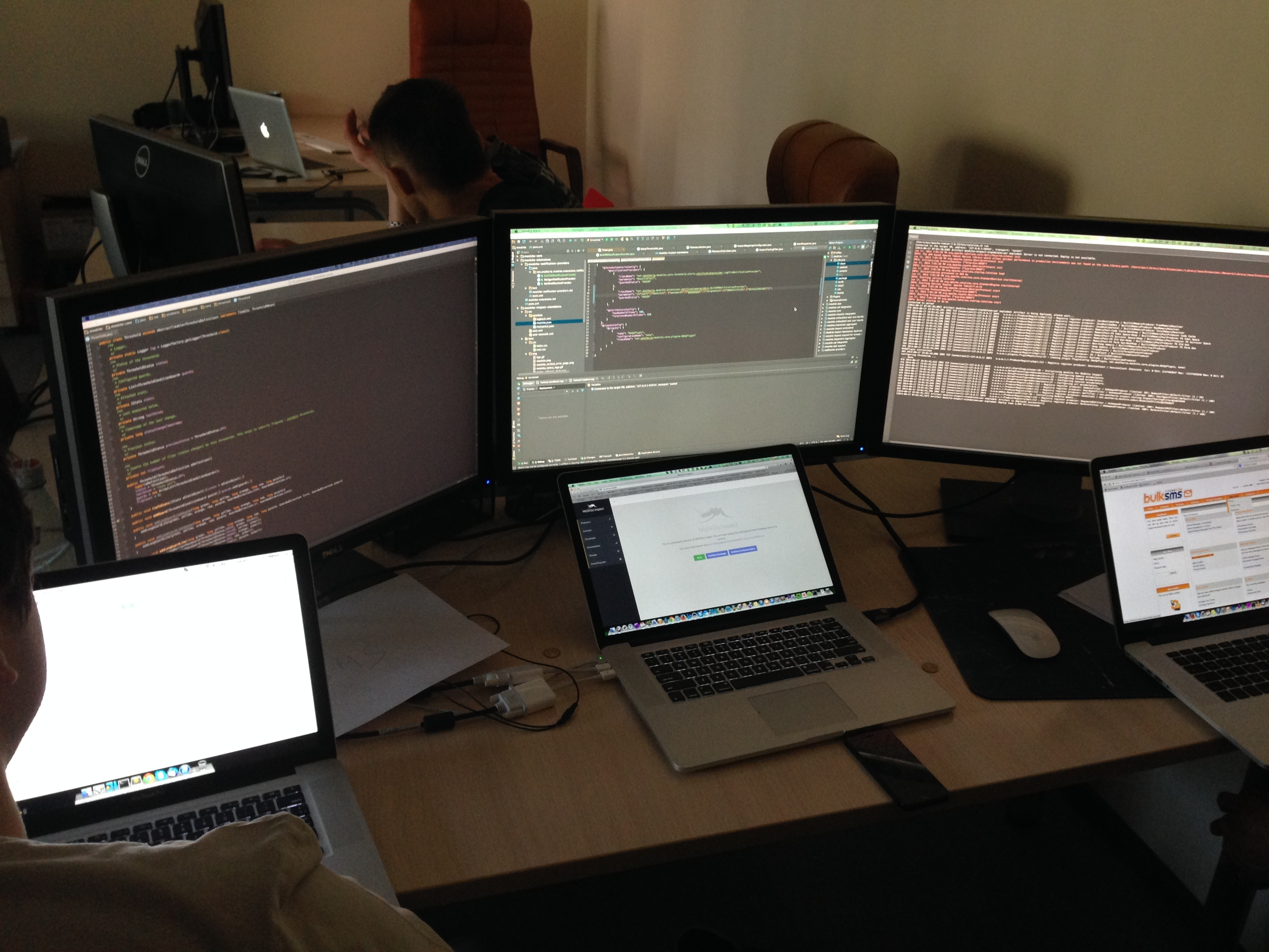 TheWorkingPlaceOfAMoskitoDeveloper